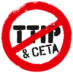 Logo stop TTIP CETA be small